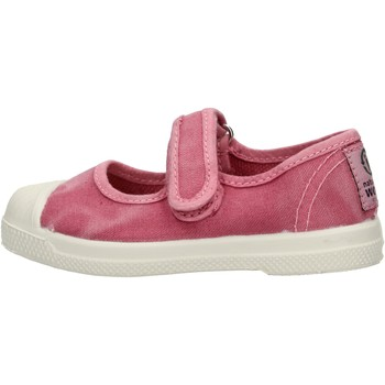 Chaussures Fille Baskets basses Natural World - Scarpa velcro rosa 476E-603 ROSA