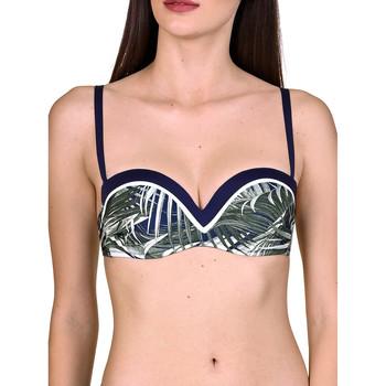 Vêtements Femme Maillots de bain séparables Lisca Haut maillot de bain bandeau Buenos Aires Bleu