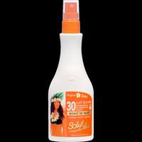 Beauté Femme Protections solaires Interlac France Lait solaire SPF 30 Blanc