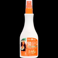 Beauté Femme Protections solaires Interlac France Lait solaire SPF 50 Blanc