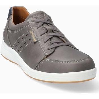 Chaussures Homme Baskets basses Mephisto Basket cuir VINCENTE Gris