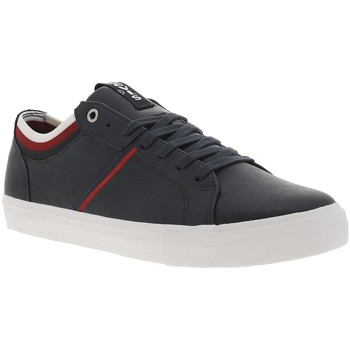Chaussures Homme Baskets basses Levi's WOODWARD COLLEGE BLEU