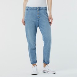 Vêtements Femme Jeans slim Lee Cooper Jean JASMINE 8530 Light Bleached Bleu
