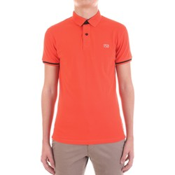 Vêtements Homme Polos manches courtes Yes Zee T712-SG00 orange