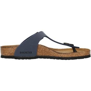 Chaussures Enfant Tongs Birkenstock 0345443 Bleu