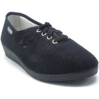 Chaussures Femme Chaussons Semelflex JAVA 2 NOIR