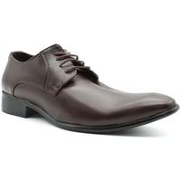 Chaussures Homme Richelieu Kebello Chaussures derbies H Marron Marron