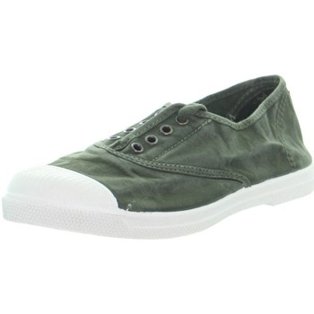 Chaussures Femme Baskets basses Natural World Baskets  ref_48876 622 Kaki vert