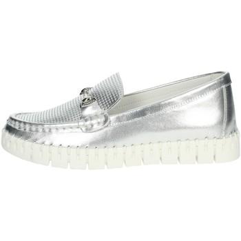 Chaussures Femme Mocassins Nina Capri DALIA Argent