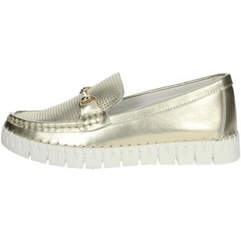 Chaussures Femme Mocassins Nina Capri DALIA Platine