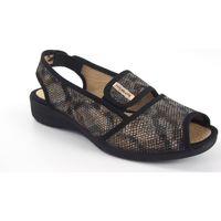 Chaussures Femme Sandales et Nu-pieds Vulca Bicha Dame pieds délicats  1173 noir Multicolore