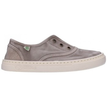 Chaussures Garçon Baskets mode Natural World 6470E 670 Niño Gris gris