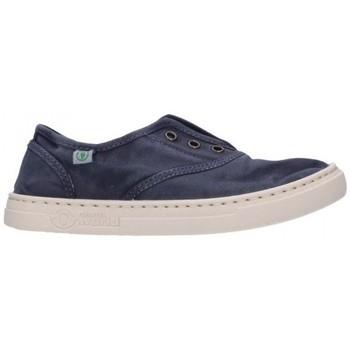 Chaussures Garçon Baskets mode Natural World 6470E 677 Niño Azul marino bleu