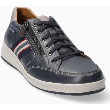 Chaussures Homme Baskets basses Mephisto Basket cuir LISANDRO Bleu