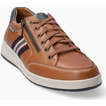 Chaussures Homme Baskets basses Mephisto Basket cuir LISANDRO Marron