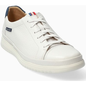 Chaussures Homme Baskets basses Mephisto Basket cuir THOMAS Blanc