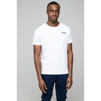 Vêtements Homme T-shirts & Polos Redskins T-shirt SKINNER FLAMES Blanc