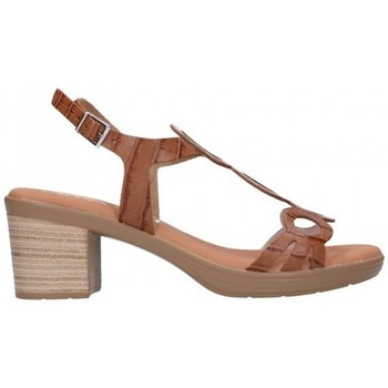 Chaussures Femme Sandales et Nu-pieds Oh My Sandals 4655 BREDA ROBLE Mujer Cuero marron