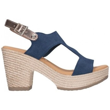 Chaussures Femme Sandales et Nu-pieds Oh My Sandals For Rin OH MY SANDALS 4700 SERR MARINO COMBI Mujer Azul marino bleu