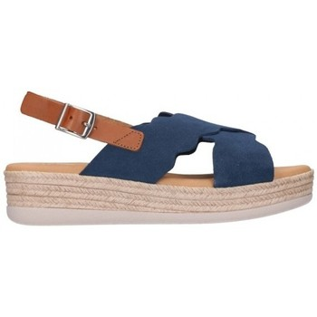 Chaussures Femme Sandales et Nu-pieds Oh My Sandals For Rin OH MY SANDALS 4682 SERRAJE MARINO Mujer Azul marino bleu