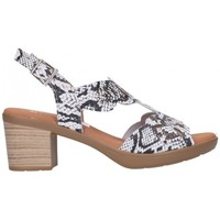 Chaussures Femme Sandales et Nu-pieds Oh My Sandals For Rin OH MY SANDALS 4689 REPTILE BLANCO Mujer Blanco blanc