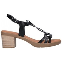 Chaussures Femme Sandales et Nu-pieds Oh My Sandals For Rin OH MY SANDALS 4655 BREDA NEGRO Mujer Negro noir