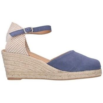Chaussures Homme Espadrilles Paseart ROM A00 DENIM Mujer Celeste bleu