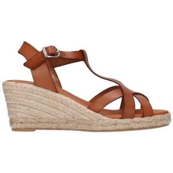 Chaussures Homme Espadrilles Paseart ROM/V108 VAQUETA CUERO Mujer Cuero marron