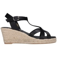 Chaussures Homme Espadrilles Paseart ROM/V108 VAQUETA NEGRO Mujer Negro noir