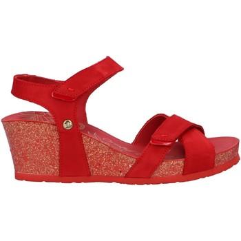 Chaussures Femme Espadrilles Panama Jack VIERI BASICS B4 Rojo