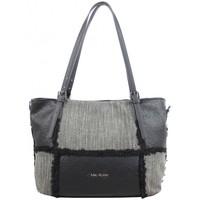 Sacs Femme Cabas / Sacs shopping Mac Alyster Sac trapèze  Inspiration panache noir Multicolor