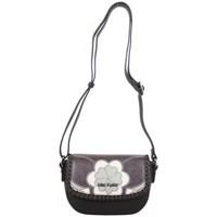 Sacs Femme Sacs Bandoulière Mac Alyster Petit sac à rabat  Impression noir motif fleur Noir