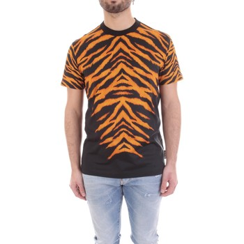 Vêtements Homme T-shirts manches courtes Versace B3GVB7DF-30377 Noir
