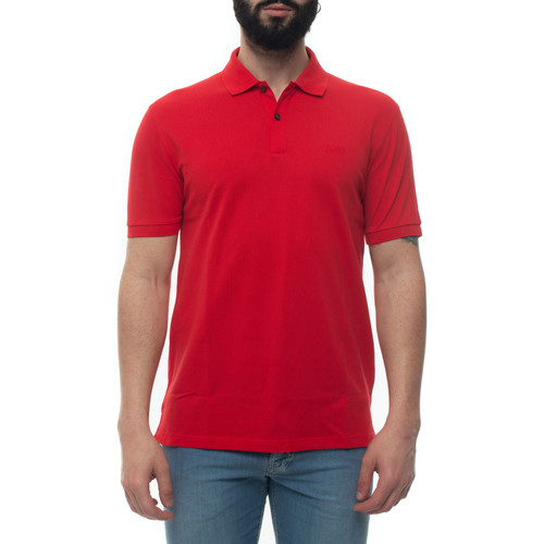 Vêtements Homme Polos manches courtes Hugo Boss PALLAS-50425985617 rosso