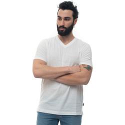 Vêtements Homme T-shirts manches courtes Hugo Boss TILSON100-50402620100 bianco