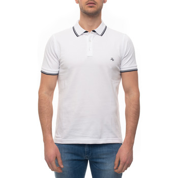 Vêtements Homme Polos manches courtes Fay NPMB240140S-ITOB001 Bianco