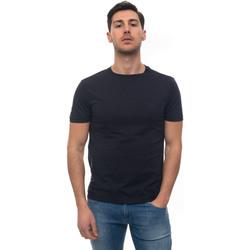 Vêtements Homme T-shirts manches courtes Fay NPMB3401300-PKUU809 blu