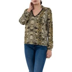 Vêtements Femme T-shirts manches longues Morgan 201-tila.n multico beige