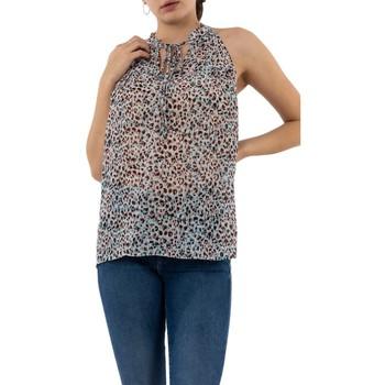 Vêtements Femme Débardeurs / T-shirts sans manche Molly Bracken r1472ce20 panther fun pastel gris