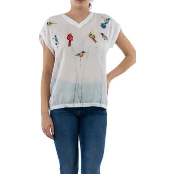 Vêtements Femme T-shirts manches courtes Geisha 03106-40 000000 - white blanc