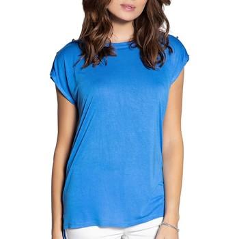 Vêtements Femme T-shirts manches courtes Deeluxe T-Shirt LYSE Blue