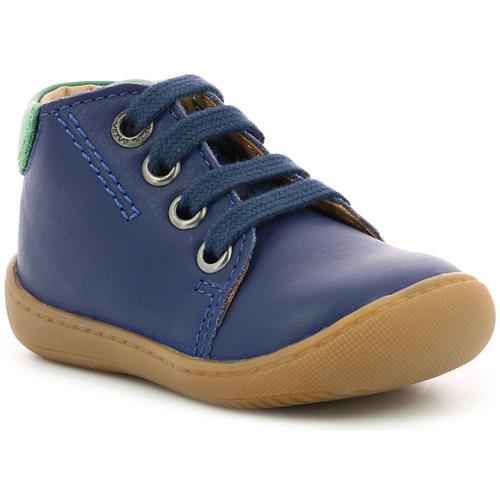 Chaussures Garçon Boots Aster Pitio BLEU FONCE