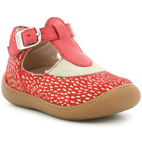 Chaussures Fille Ballerines / babies Aster Patti ROUGE