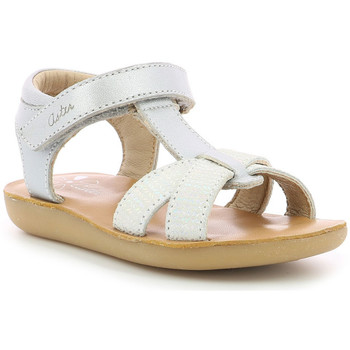 Chaussures Fille Sandales et Nu-pieds Aster Terry ARGENT
