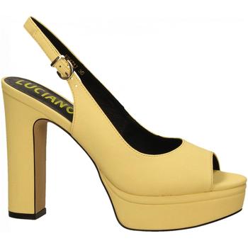 Chaussures Femme Sandales et Nu-pieds Luciano Barachini BOTTALATO giallo