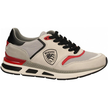 Chaussures Homme Baskets basses Blauer HILO01 white-black-red
