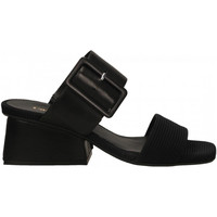 Chaussures Femme Sandales et Nu-pieds Carmens Padova LISA BELT TAFFY nero