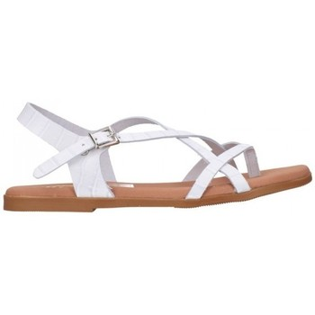 Chaussures Femme Sandales et Nu-pieds Oh My Sandals 4641 BREDA BLANCO Mujer Blanco blanc