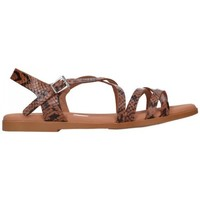 Chaussures Femme Sandales et Nu-pieds Oh My Sandals For Rin OH MY SANDALS 4640 TODO REPTILE ROBLE Mujer Cuero marron