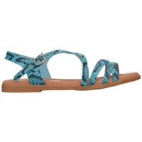 Chaussures Femme Sandales et Nu-pieds Oh My Sandals For Rin OH MY SANDALS 4640 TODO REPTILE CARIBE Mujer Azul bleu